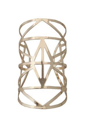 Широкий красивый браслет геометрия
