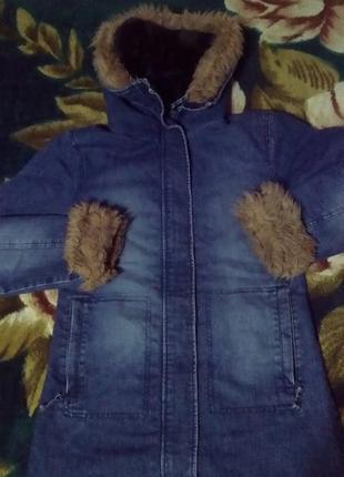 Джинсовая куртка пальто george