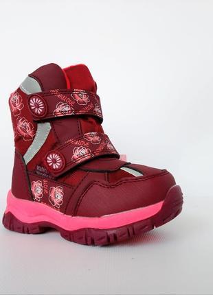 Зимние термо-ботинки девочкам от том.м