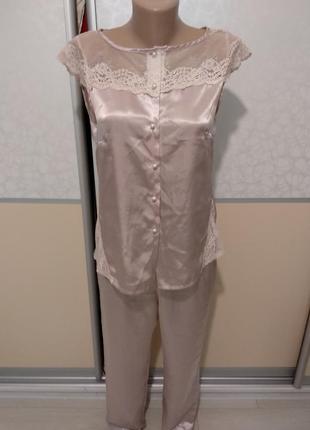 Пижама ночнушка комплект