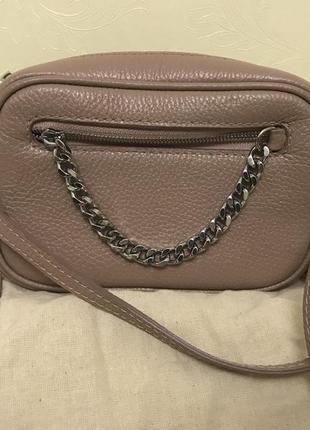 Оригинальная кожаная сумочка от tefia