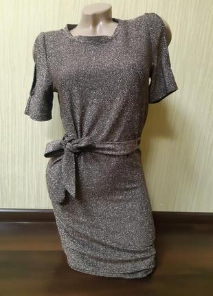 Платье с люрексом.next