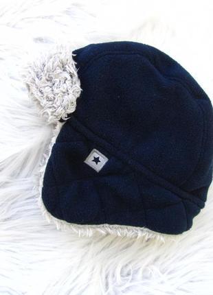 Стильная теплая шапка george
