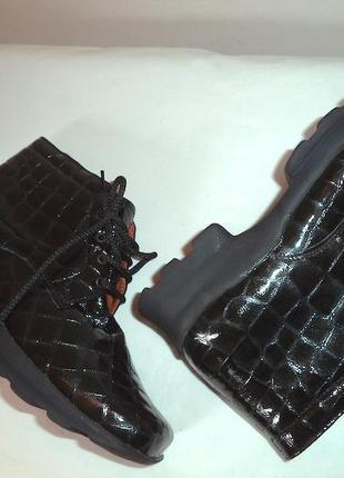 Ботинки ретилия,натур,кожа,новые,крутые,37