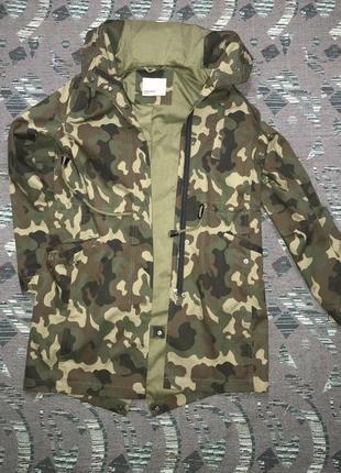 Камуфляжная парка, хаки плащ, куртка vero moda