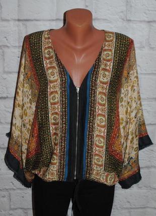 """Блуза- кимоно """"zara basic"""""""