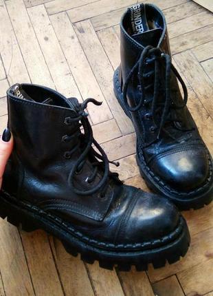 Гриндера, гады, ботинки на тракторной подошве grinders