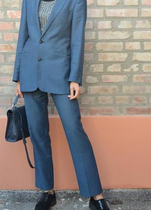 Шерстяной брючный костюм унисекс, размер м-л