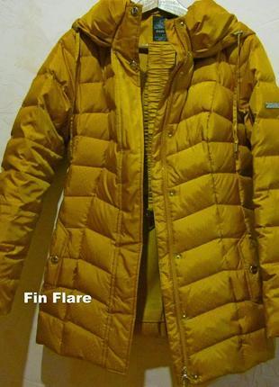 В наличии теплий пуховик фирмы fin flare р s -м ;новый цвет не яркий