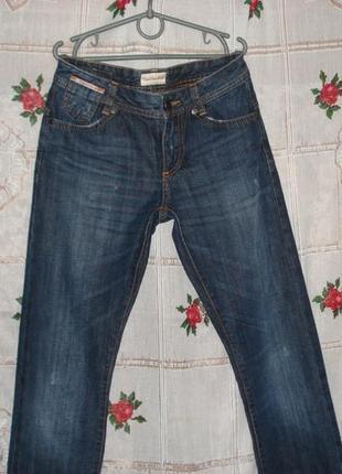 """Супер джинсы""""calvinklein"""",w24-l34.100%коттон."""