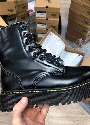Шикарные женские ❄️зимние ботинки dr. martens топ качество