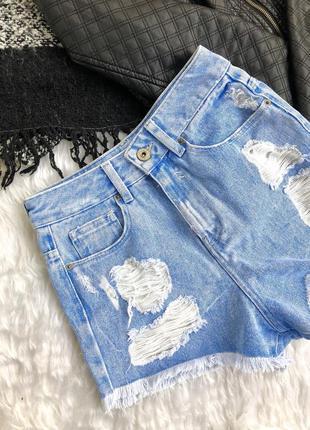 Крутые новые джинсовые шорты от bershka