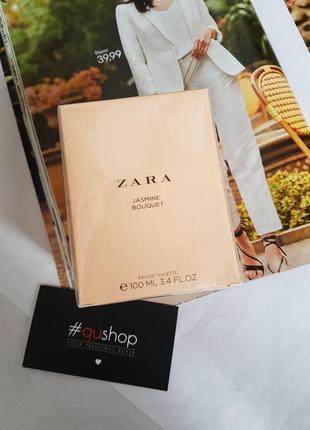 Zara jasmine bouquet100ml! ніжний аромат жасмину! оригінал, іспанія!