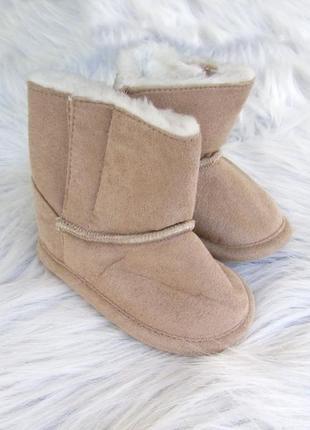 Теплые пинетки - сапожки  угги ботинки tu