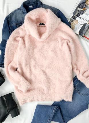Теплый свитер с объемным воротником sh1942041  peacocks