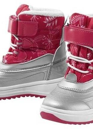 Детские термо ботинки для девочки lupilu