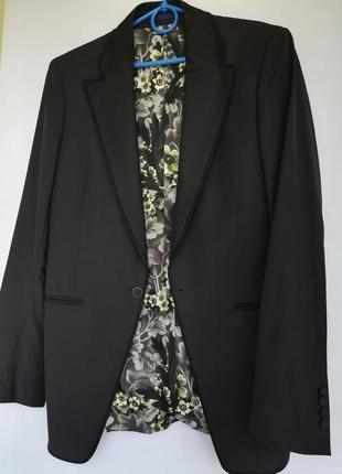Пиджак унисекс kenzo 100%шерсть