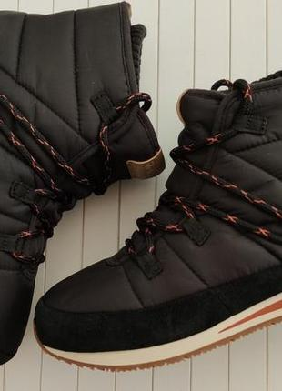 Ботинки зимние дутики teva, размер 38
