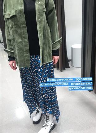 Пиджак куртка жакет рубашка вельветовая бахрома накладные  карманы10 фото