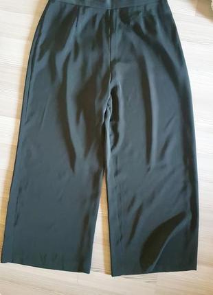 Широкие брюки кюлоты высокой посадкой италия sarah pacini
