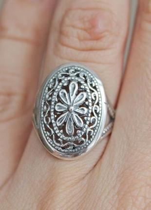 Серебряное кольцо хартов 1172 р.18,5