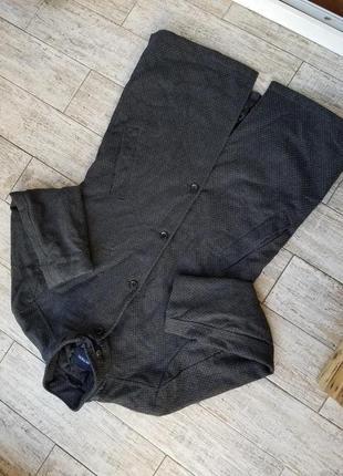 Шерстяное пальто mcneal (l-xl)