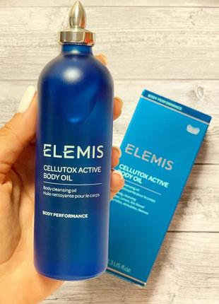 Антицеллюлитное масло для тела elemis