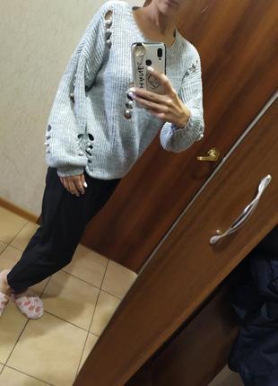 🐨нереально крутой свитер с жемчугом!🐨