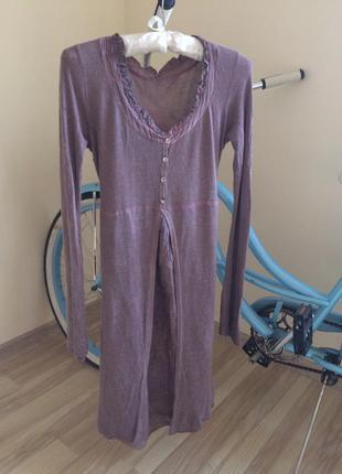 Платье туника из ангоры