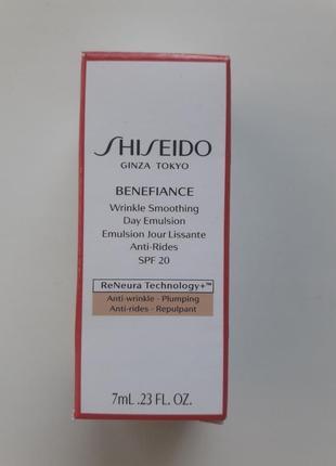 Крем против морщин shiseido пробник 7ml