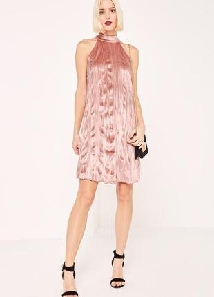Вільна сукня лососевого кольору
