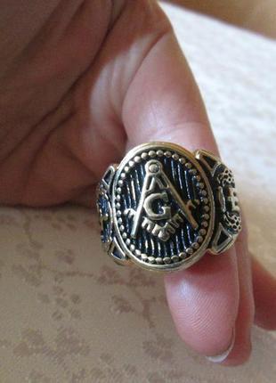 Кольцо, перстень, печатка масонская