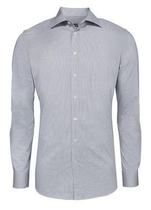 Коттонова рубашка з категорії super slim fit.  європейський розмір 41/16