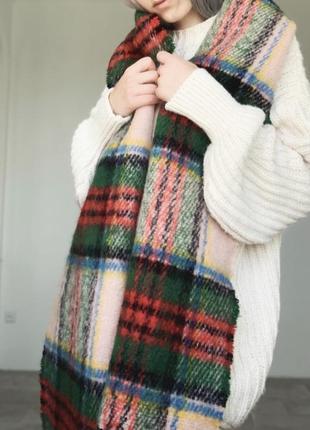 Идеальный новый шарф в клетку от topshop