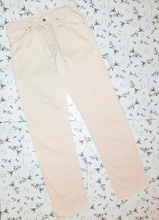 Акция 1+1=3 крутые прямые джинсы levis 551оригинал светлый беж, размер 50 - 52