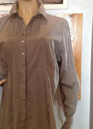 Натуральная, замечательная рубашка (блуза) бренда george, р. 60-62 (24)