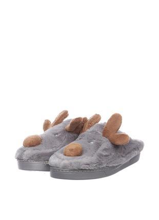 Тапки тапочки мех олени разные размеры