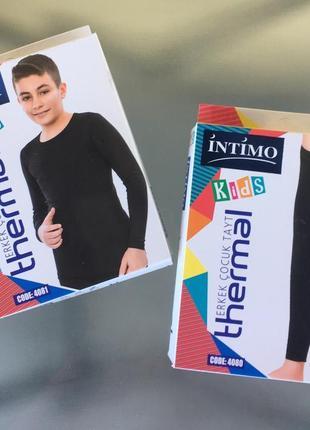 Детские качественные термокомплекты , термобелье от 3-6 лет турецкой фирмы intimo💙