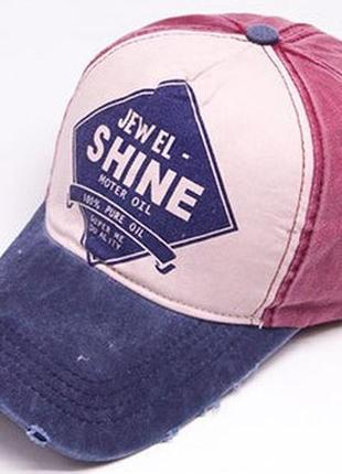 13-214 бейсболка jewel shine кепка панамка шапка