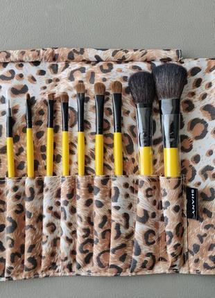 Набор кистей для макияжа shany leopard 12pc