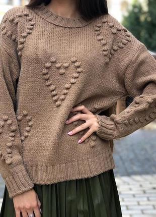 Супер мягкий свитер oversized s-xl + цвета