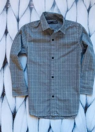 Next стильная рубашка на мальчика 4 года