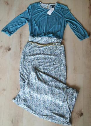 Прекрасное новое макси платье