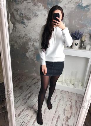 Теплая белая худи‼️мастхэв в твоём гардеробе ‼️