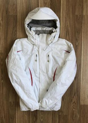 Зимняя куртка the north face white jacket