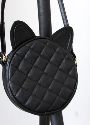 Сумка сумочка с ушками кошка