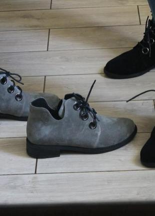 Мега акция скидка на весенюю обувь, замша натуральная, с 36-41р5 фото