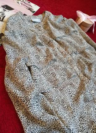 Блуза в лео принт