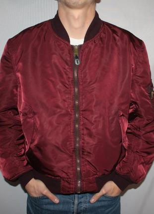 Куртка бомбер alpha industries ma-1 flight jacket