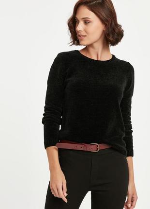 Бархатный плюшевый  мягкий вязаный оверсайз свитер джемпер lc waikiki xl